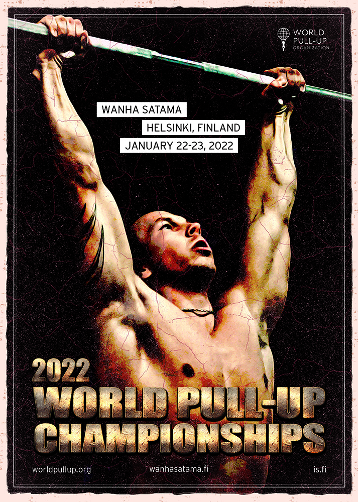 Helsinki to Host the 2022 World Pull-Up Championships in January